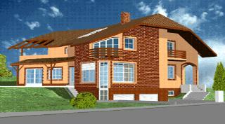 Projekt rodinného domu Hostivice